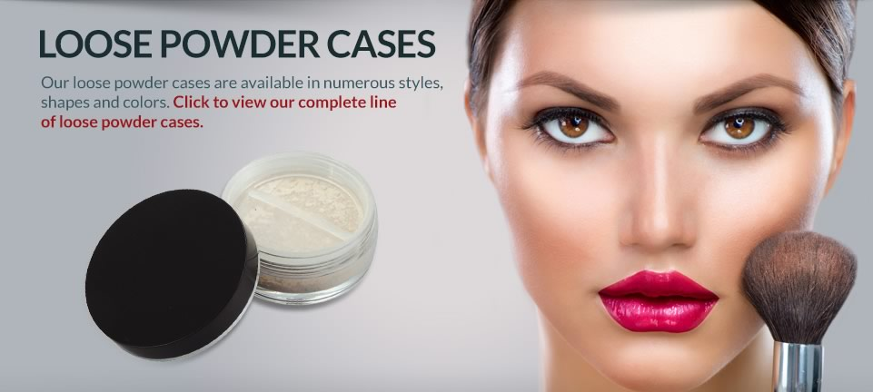Loose powder case nice packaging