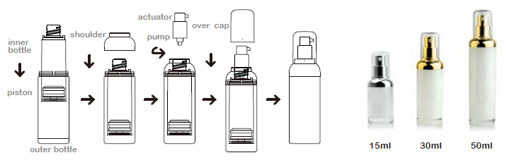 Airless Pump Bottle Z-YA